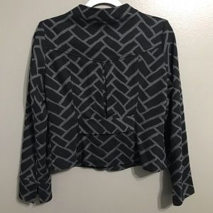 Saks Fifth Avenue Jackets & Coats - Saks Fifth Ave Button Up Career Cropped Jacket 4